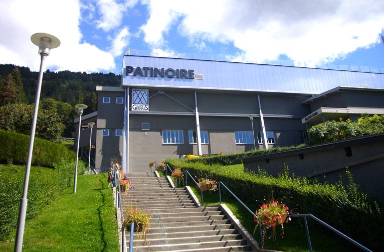 Patinoire municipale saint gervais les bains laurent for Piscine st gervais